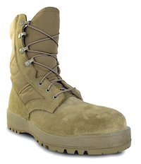 Mil-Spec Hot Weather Steel-toe Boot in Coyote
