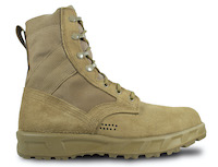 T2 Ultra Light Hot Weather Steel Toe Combat Boot-Coyote
