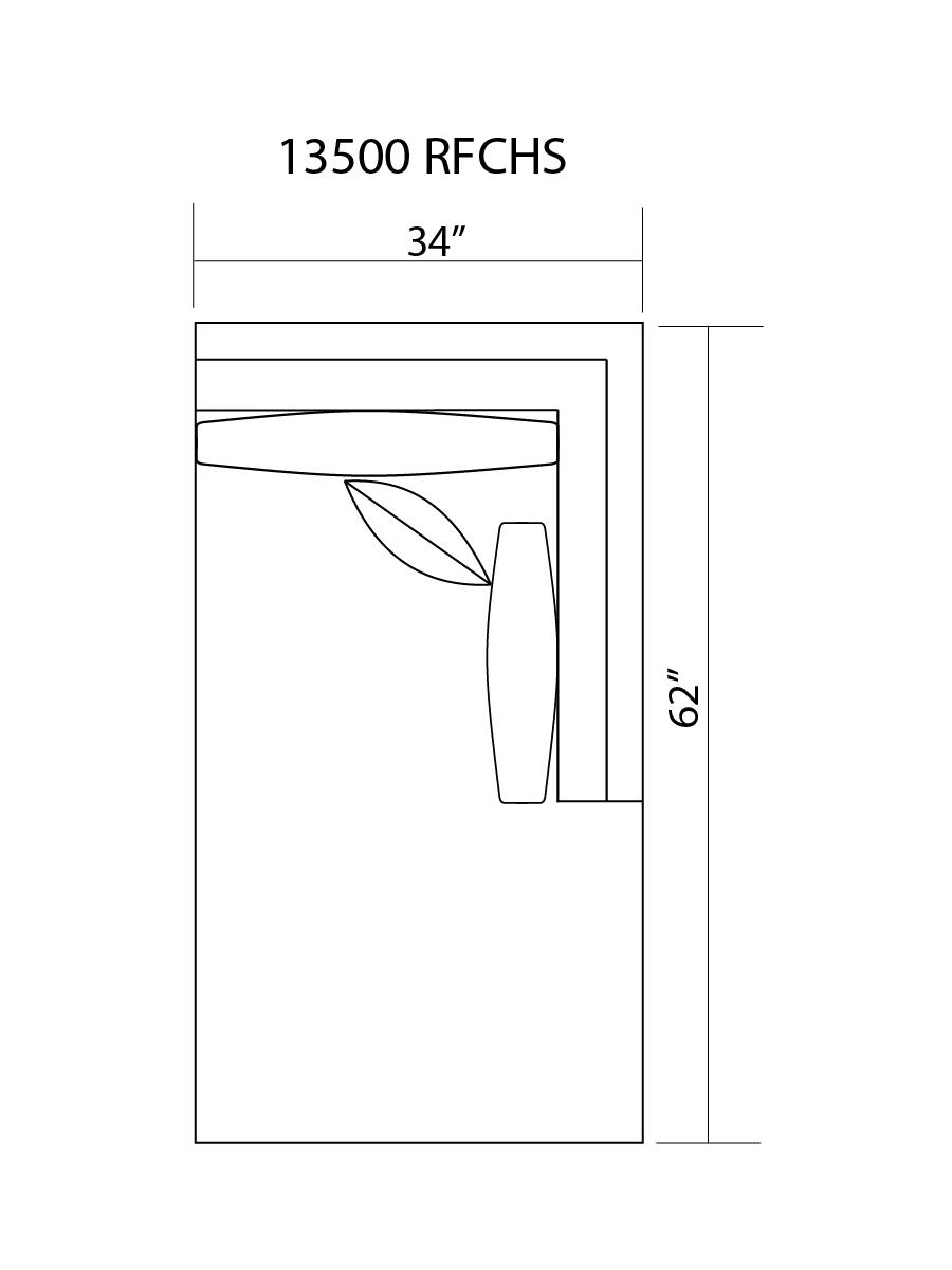 13500 R/F CHAISE