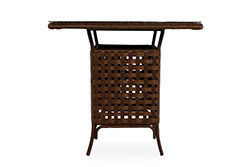 "Haven 41.5"" Square Umbrella Bar Table"