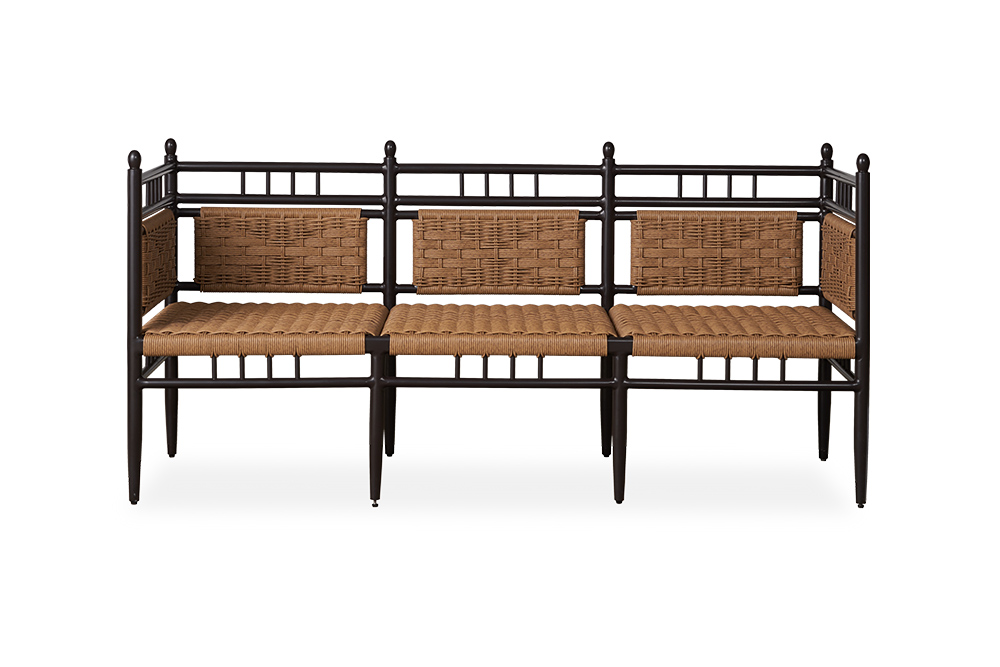 Low Country 3-Seat Garden Bench