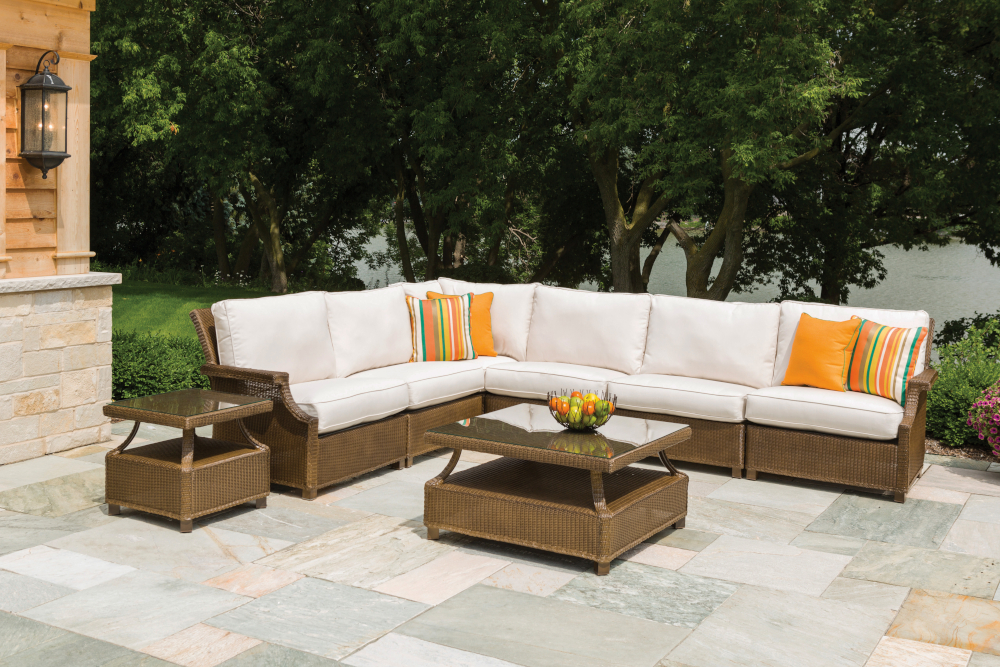 Hamptons Right Arm Sectional