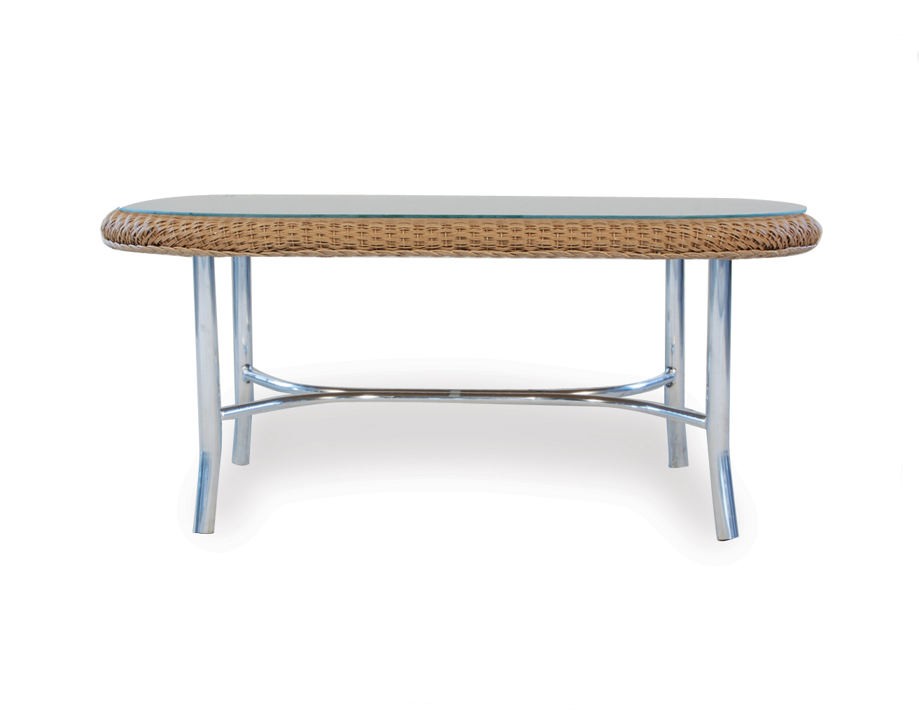"Loom 43"" Oval Cocktail Table"