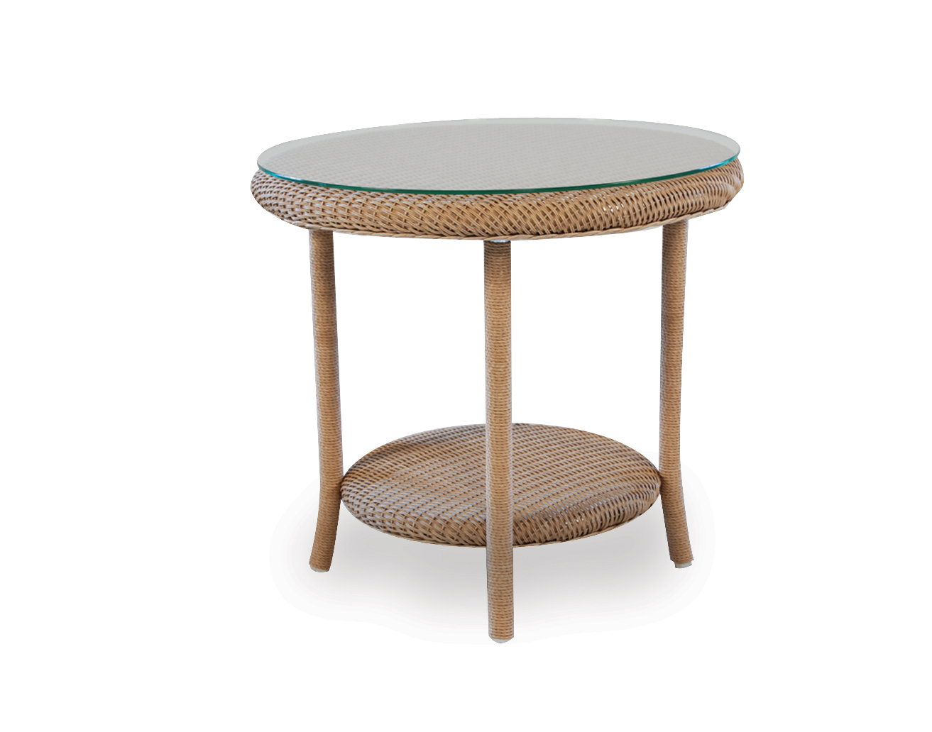 "Loom 24"" Round End Table"