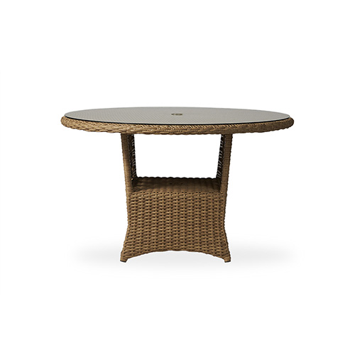 "Magnolia 48"" Round Umbrella Dining Table"