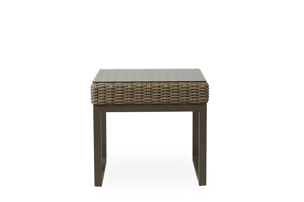 """Milan 25"""" Square End Table"""