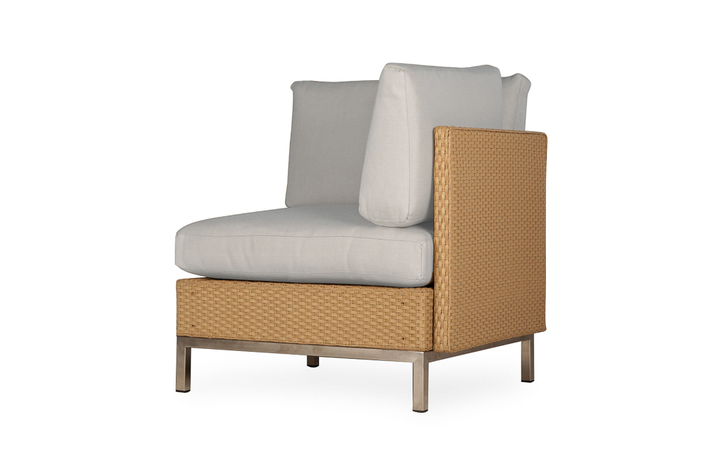 Elements Corner Sectional with Loom Back