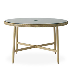 "Fairview 48"" Round Umbrella Dining Table"
