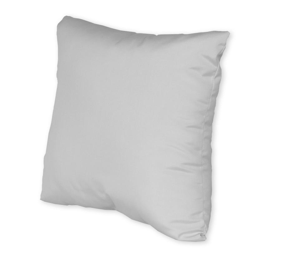 "24"" Square Throw Pillow w/Fiber Down"