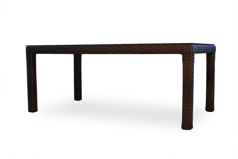 "Contempo 72"" Rct. Umbrella Dining Table"