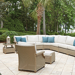 Hamptons Left Arm Sectional