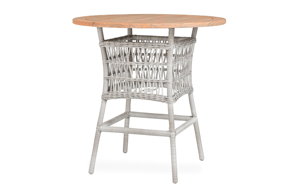 "Mackinac 40"" Round Umbrella Bar Table"