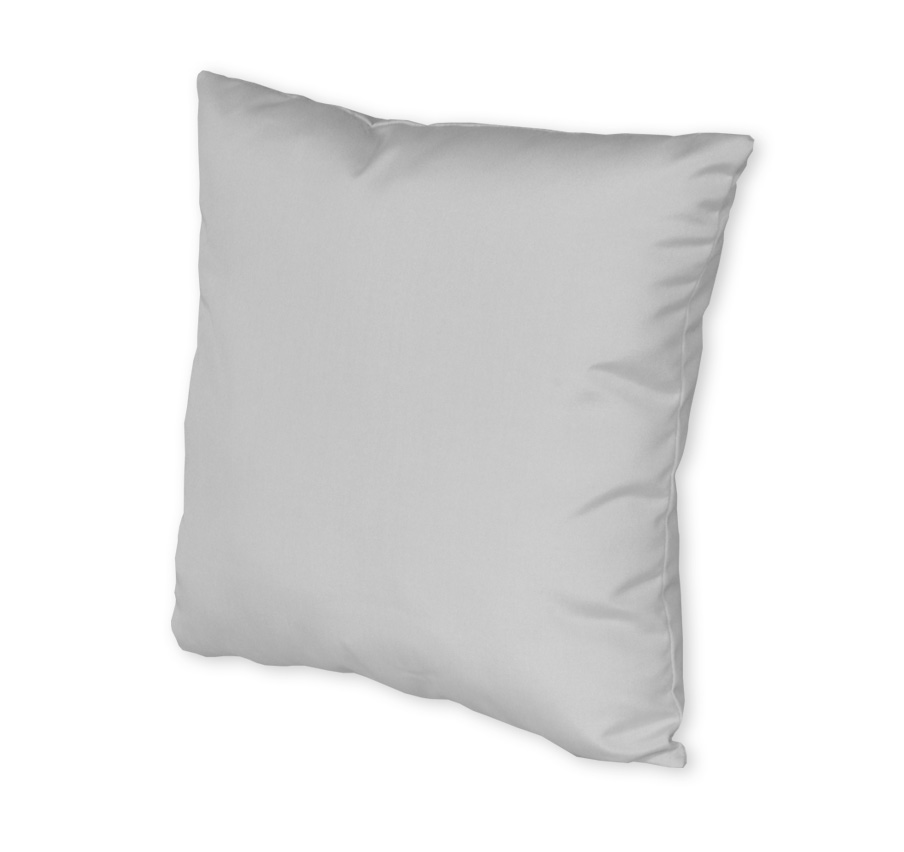 "19"" Square Throw Pillow w/Fiber Down"