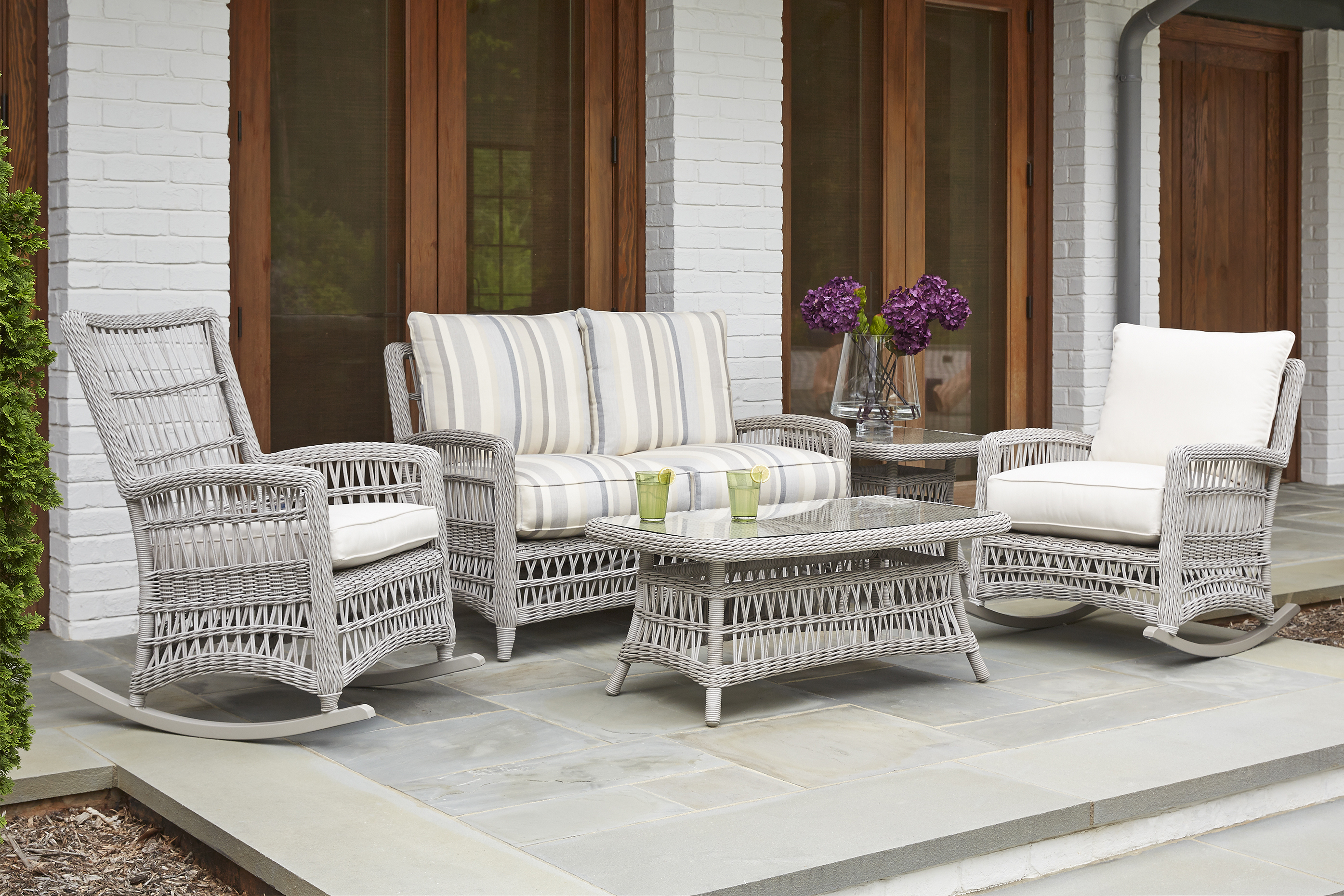 Mackinac High Back Porch Rocker