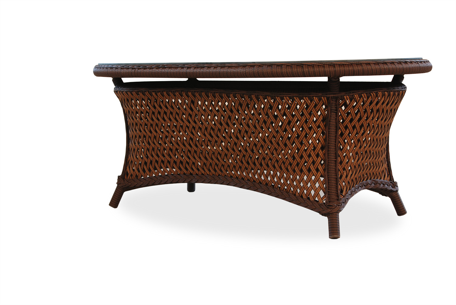 "Grand Traverse 42"" Oval Cocktail Table"
