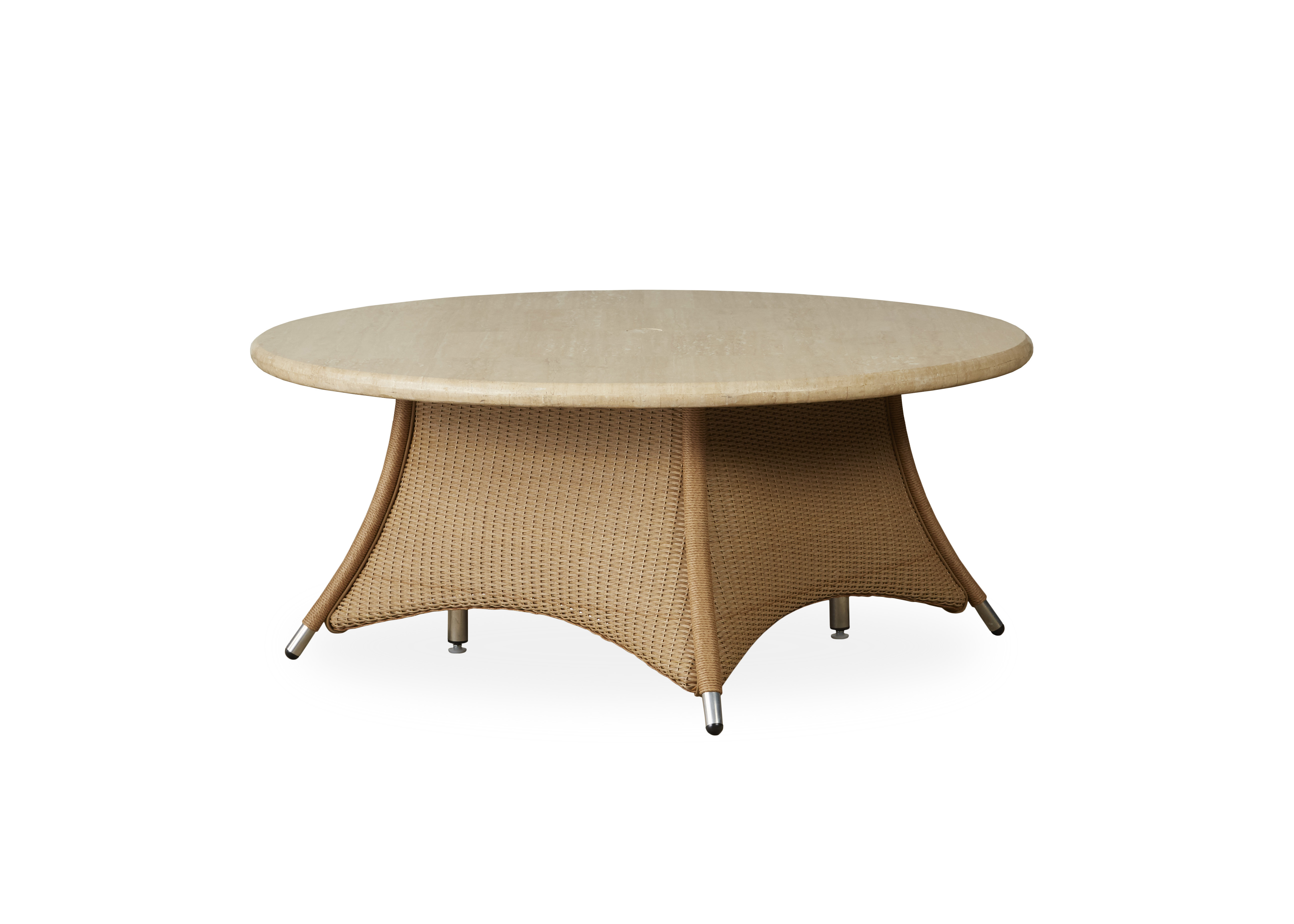 "Generations 48"" Round Umbrella Chat Table"