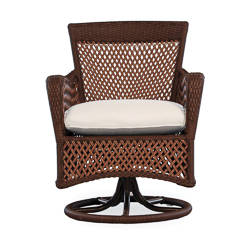 Grand Traverse Swivel Dining Armchair