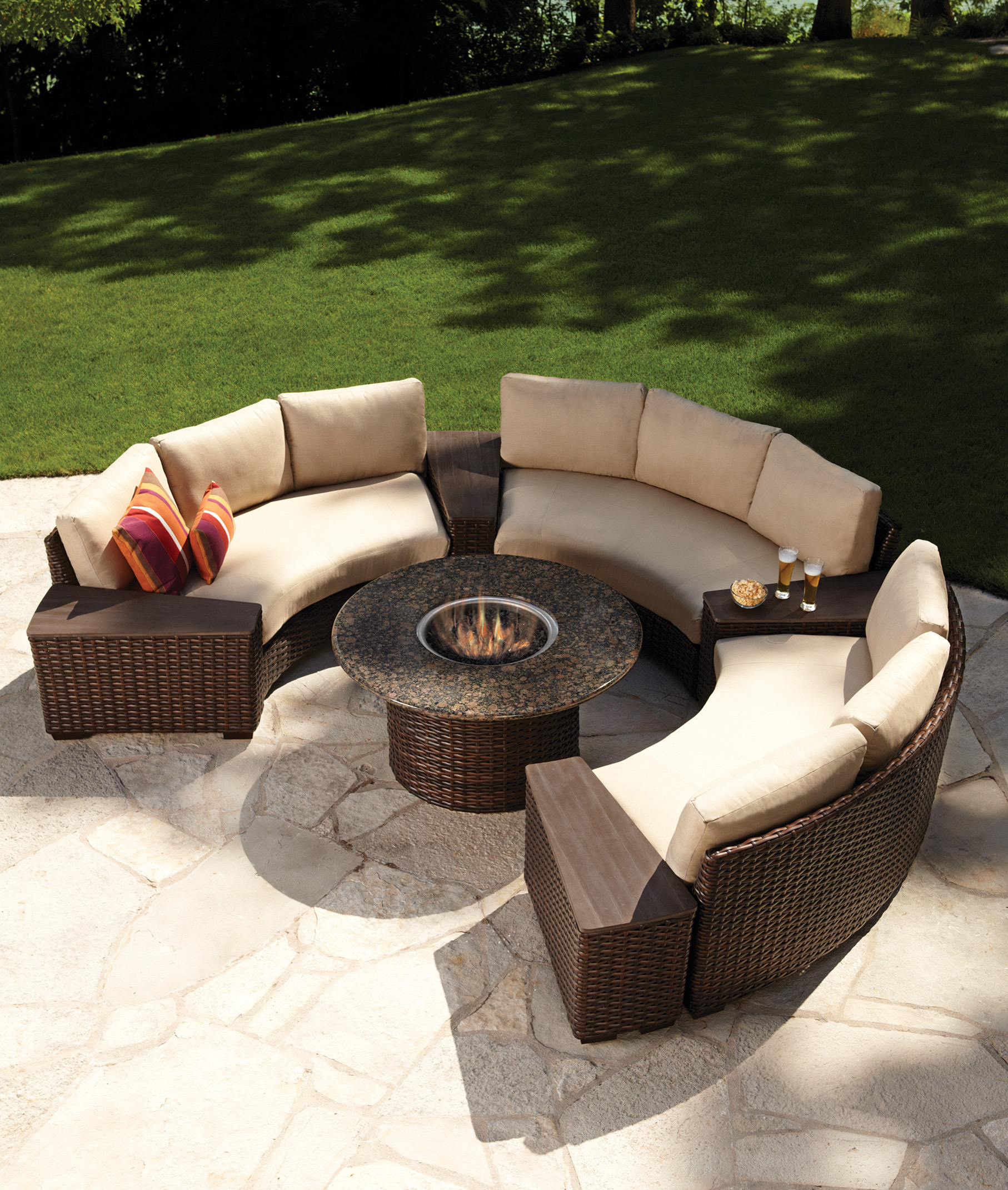 "Contempo 48"" Round Fire Table"