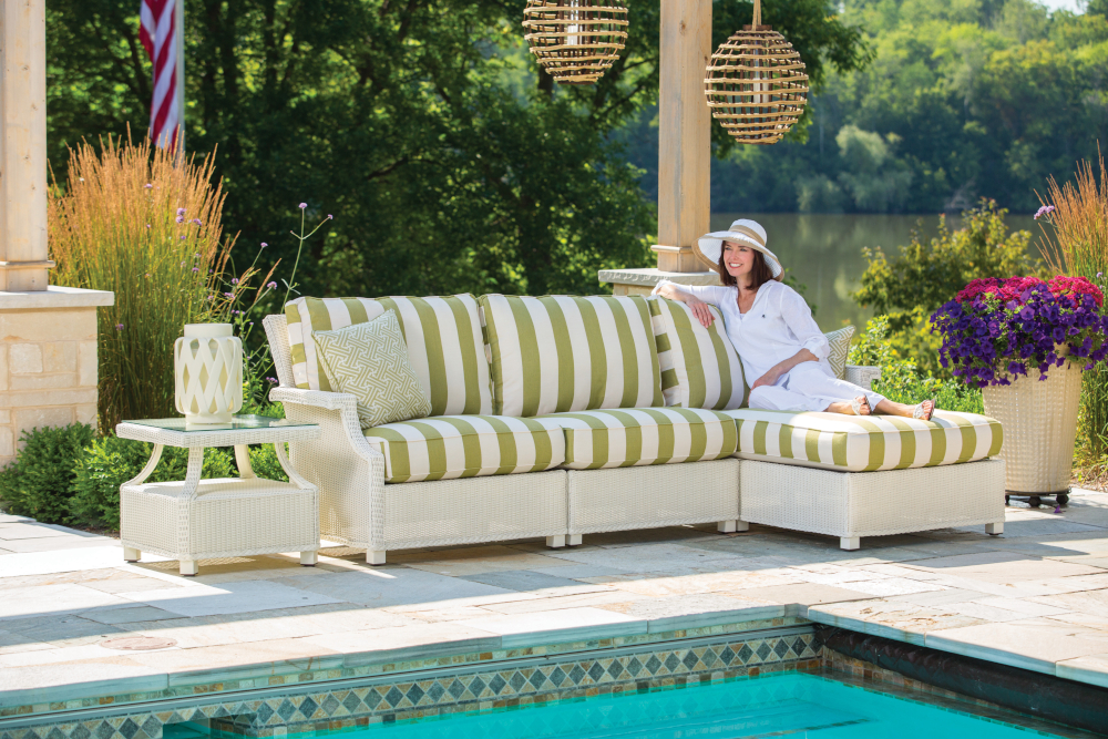 Hamptons Left Arm Chaise