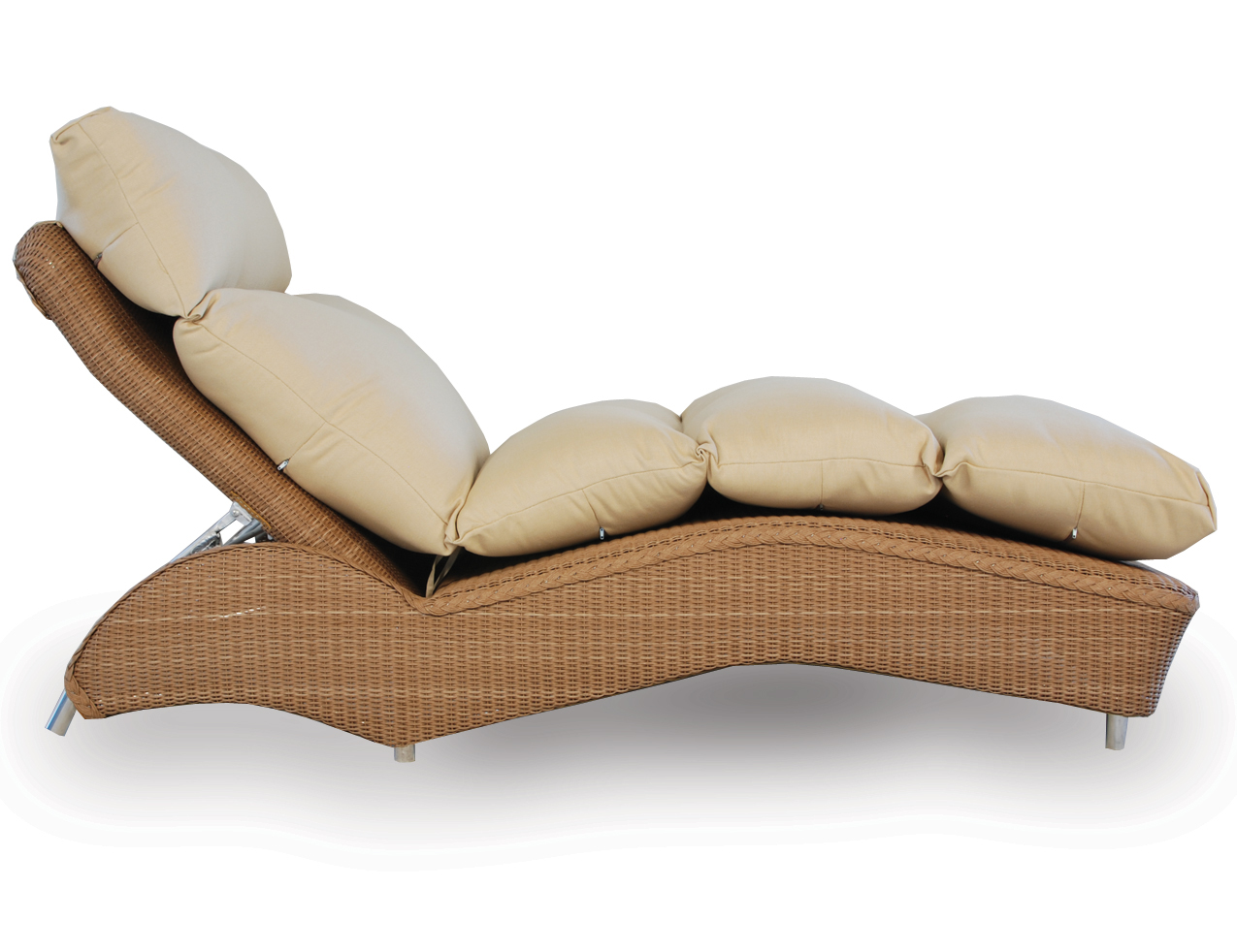 Loom Channel Tufted Chaise