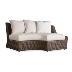 Largo Left Arm Curved Sofa Sectional