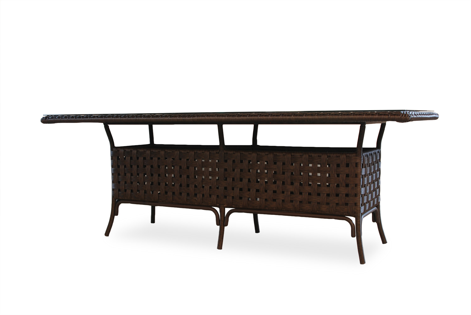"Haven 84"" Rct. Umbrella Dining Table"