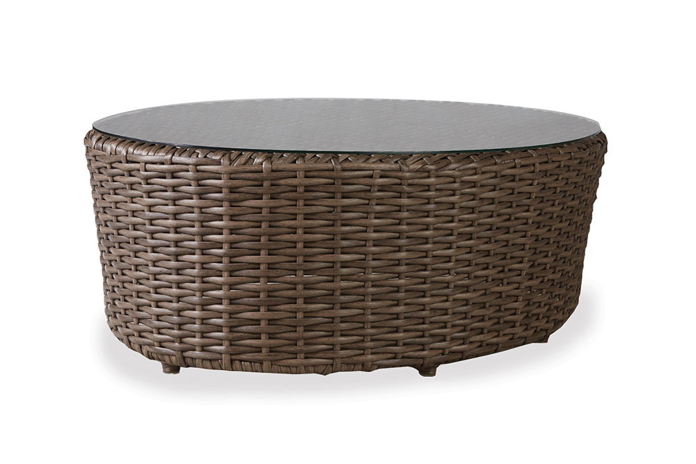 "Largo 48"" Oval Cocktail Table"