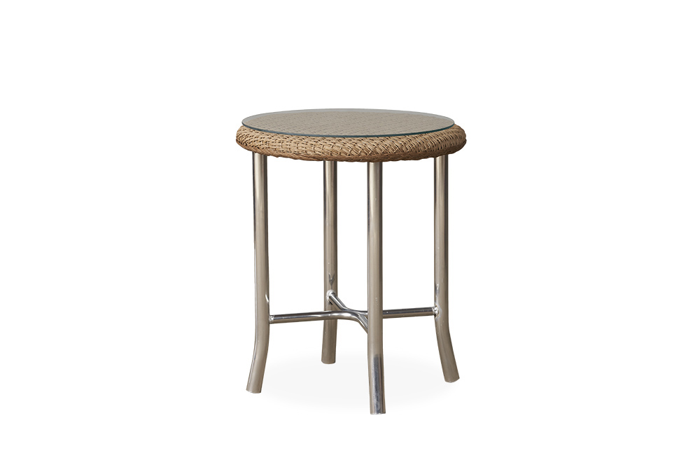 "Loom 20"" Round End Table"