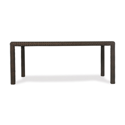 "Mesa 72"" Rectanular Umbrella Dining Table"