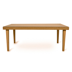 """Hamptons 72"""" Rect. Dining Table"""