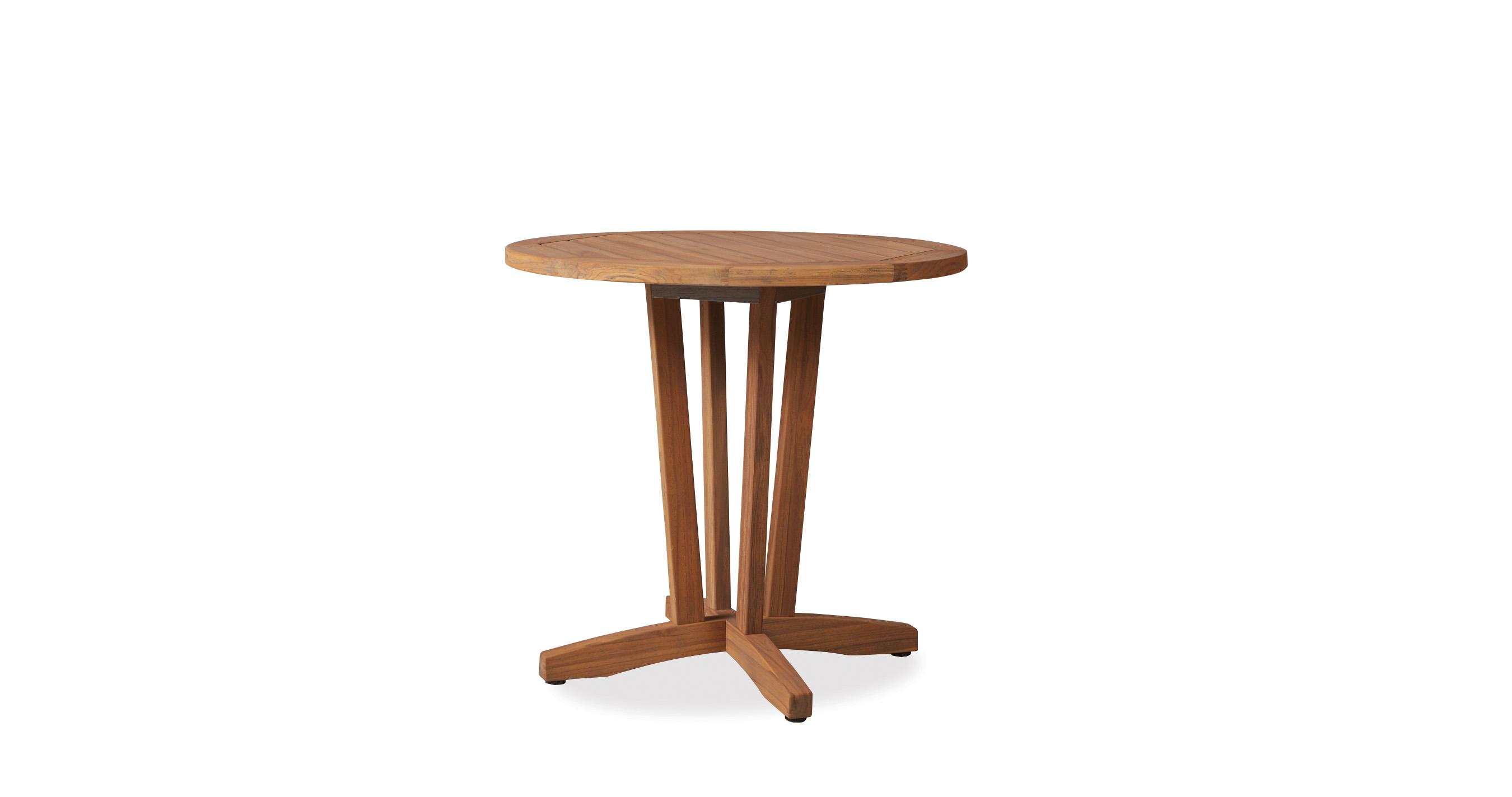 "Teak 30"" Round Bistro Table"